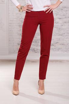Женские бордовые брюки Angela Ricci