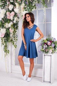 Летнее джинсовое платье Angela Ricci