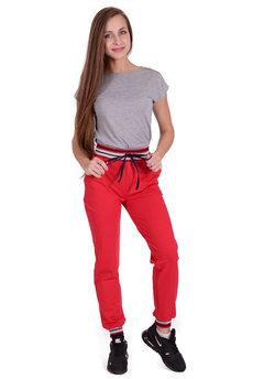 Красные спортивные брюки Трикотажница