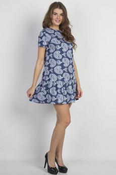 Синее платье Bast