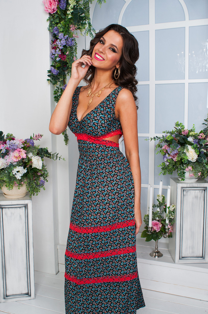 Модные платья и сарафаны фото